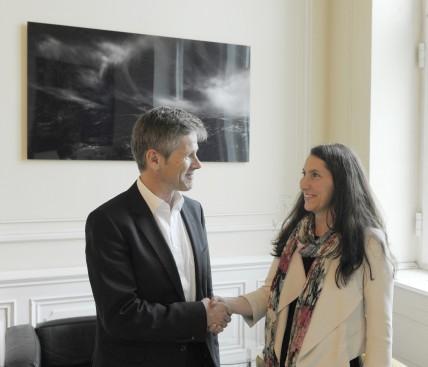 Ernennung zum Digital Champion Austria durch Staatssekretär Ostermayer